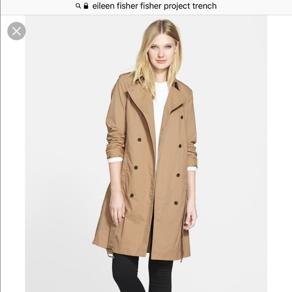 Eileen Fisher Jackets & Blazers - The Fisher Project / Eileen Fisher Trench Coat